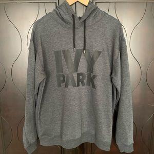 Ivy Park Logo Hoodie in Dark Gray
